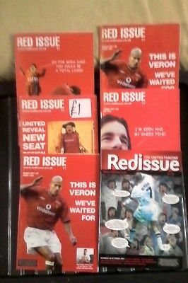 Manchester united 6. Red issue 2001