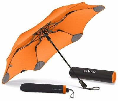 BLUNT XS_Metro ORANGE Compact Collapsible/Folding Automatic Umbrella