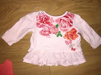 Baby Girls 0-3 Months Ted Baker Top