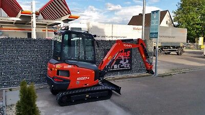 Minibagger Kubota Kx27-4 150 Std. Bj2017 High Spec