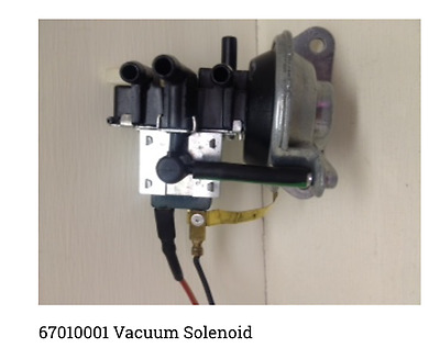 Vacuum Solenoid with Ground Wire-1967 Mercury Cougar/Ford Thunderbird