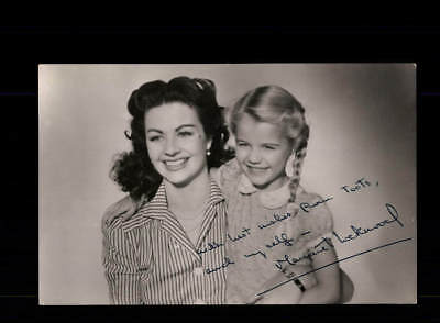Margaret Lockwood Autogrammkarte TOP ## BC 112441