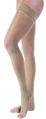 Jobst Ultrasheer 15-20 Open Toe Thigh Compression Stockings