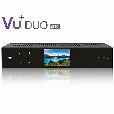 VU+ Duo 4K 1x DVB-S2X MS FBC Twin Tuner PVR ready Linux Receiver UHD 2160p +HDMI