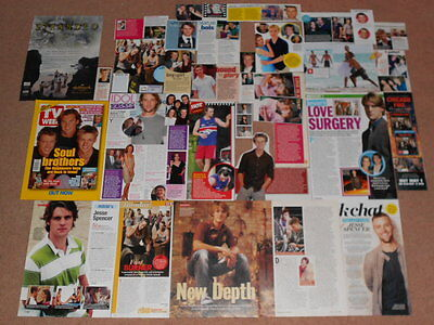 30+ JESSE SPENCER Magazine Clippings