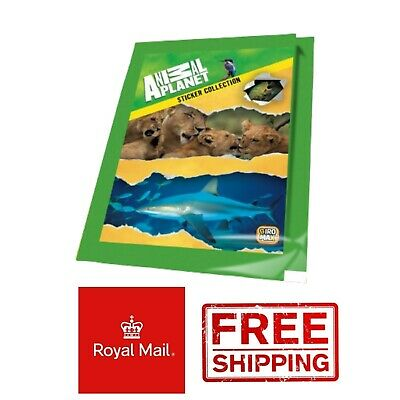 60 Packs Animal Planet Stickers Collection NEW Giromax 2014