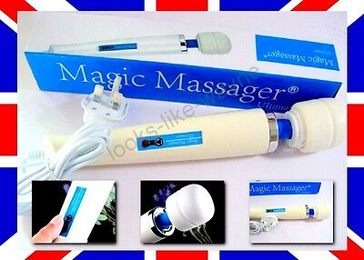 New 30 SPEED Magic Wand Powerful Massager Hitachi Motor with UK Plug. RRP £55.00