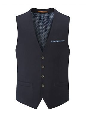 SKOPES Heritage Collection Mens Smart Casual Waistcoat (Berwick) in Navy
