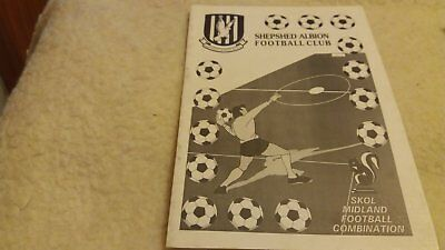 Shepshed Albion v Coleshill Town 1993/94
