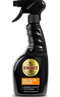 Simoniz Insect & Tar Remover 500ml Bug Shifter Cleaner Bird Droppings