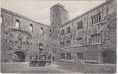 Quadrangle Showing Old Gateway To Palace, LINLITHGOW, West Lothian