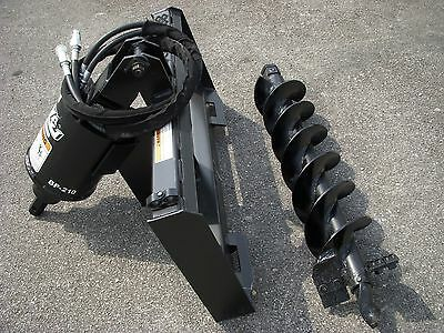 "Bobcat Skid Steer Attachment - Lowe BP210 Hex Auger with 9"" Bit - Ship $199"