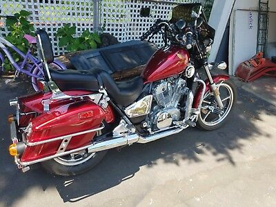 1987 Honda Shadow  Honda Shadow VT 700 1987