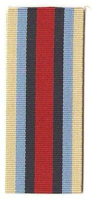 """Afghanistan Medal 6"""" Full Size Ribbon / Great Britain"""