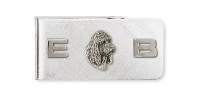 Pbgv Petite Brussels Griffon Vandeen Money Clip Silver Dog Jewelry GV3-MC