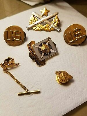 Lot of Military WW2 pins and more