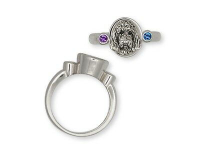 Pbgv Petit Brussels Griffon Vendeen Ring Silver Dog Jewelry GV5-SR