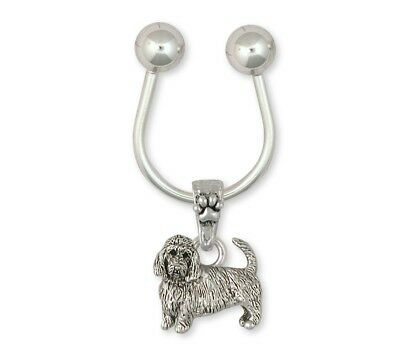 Pbgv Petit Brussels Griffon Vendeen Key Ring Silver Dog Jewelry GV6-KR