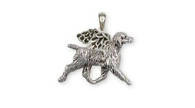 Brittany Angel Pendant Handmade Sterling Silver Dog Jewelry BR6-AP