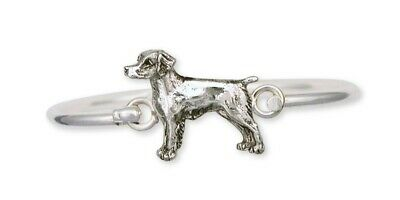Brittany Dog Bracelet Handmade Sterling Silver Dog Jewelry BS1-HB