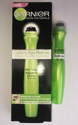 GARNIER caffeine Eye roll on Anti Bags Anti Dark Circles 15ML