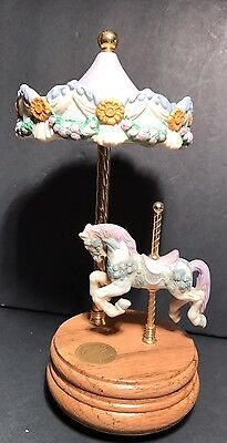 Willitts Designs Group II 51 Music Box Carousel #8724 East Side West Side