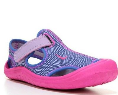 Nike Sunray Protect (Ps) Sandal Girls Pick Purple Or Pink 903634 /344992 $36