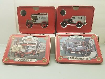 Texaco Collector Club 1913 Ford Model-T Van and 1932 Ford Panel Delivery Van
