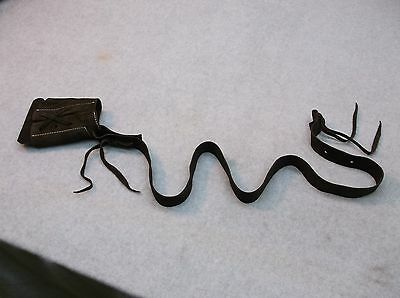 Suede Lace On Muzzleloader Rifle Boot Sling Flintlock & Percussion Muzzle Loader