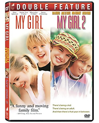 My Girl: Complete 1990s Anna Chlumsky Movie Series 1 & 2 Box / DVD Set NEW!
