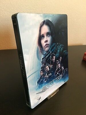 Magnetic Cover Art For Rogue One a Star Wars Story Steelbook