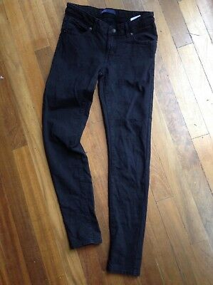Levi's girls jeggings 'The Knit Jean' black size 10 adjustable waist