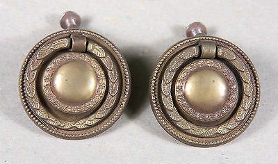 Ring Type Drawer Pulls, set of 2
