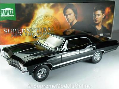 Chevrolet Impala Supernatural Model Car 1/18Th Scale Black Example 1967 T312Z(=)
