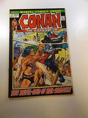 Conan The Barbarian #12 signed by Frank Brunner & Roy Thomas VF-