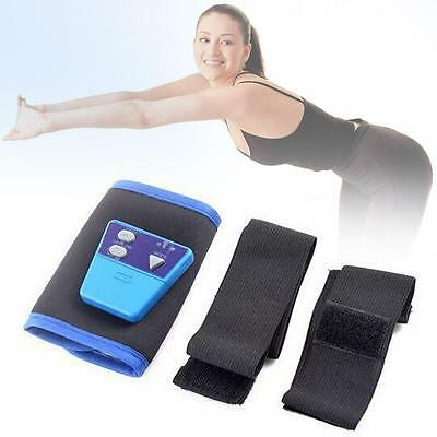 AB Gymnic Toning Toner Belt Arm leg Abdominal Waist Massage Fitness Exercise P0
