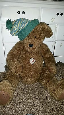 """Boyds Bears """"DICKENS"""" 40"""" PLUSH Jointed #500051 HUGE"""