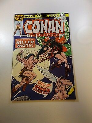 Conan The Barbarian #61 signed by Roy Thomas VF- condition