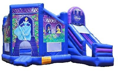 Princess Atlanta Slide Jumping Castle Hire