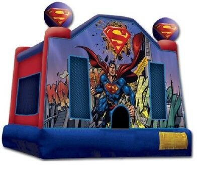 Superman Jumping Castle Hire