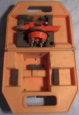 David White Instruments Site Boss 8092 Survey Level Scope,Case, Fully Functional