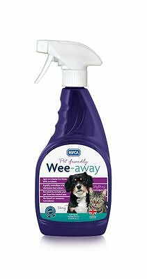 RSPCA Wee-Away Pet Friendly Stain & Odour Remover 500ml