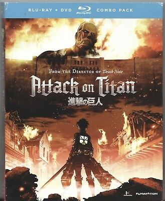 Movie Blu-Ray & DVD - ATTACK ON TITAN PART ONE 1 - Pre-Owned - Funimation