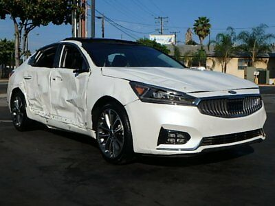 2017 Kia Cadenza Technology 2017 Kia Cadenza Technology Wrecked Repairable Only 807 Miles Loaded w Options!!