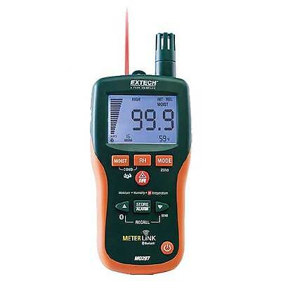 Extech MO297 Pinless Moisture Psychrometer w/IR Thermometer, Bluetooth