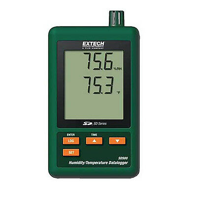 Extech SD500 Humidity/Temperature Datalogger with SD Card