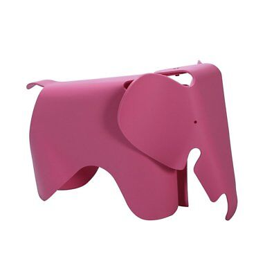 GFURN Reproduction of Elephant Stool for Kids - Pink - Mid-Century Decor