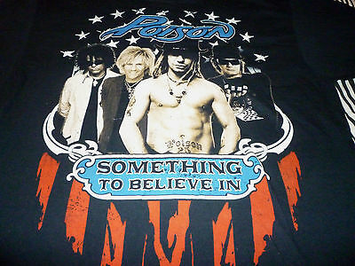Poison 2011 Tour Shirt ( Used Size XL ) Very Nice Condition!!!