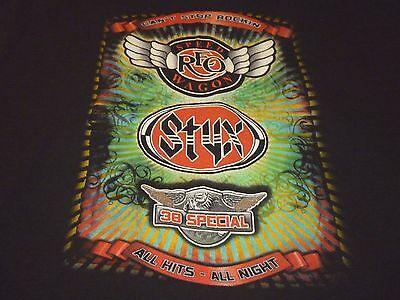 REO / Styx / 38 Special Tour Shirt ( Used Size M ) Very Good Condition!!!