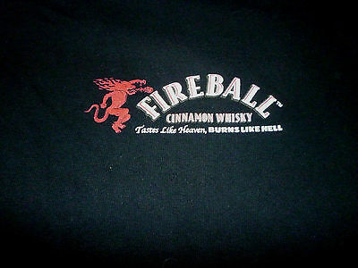 Fireball Whiskey Shirt ( Used Size L ) Very Good Condition!!!